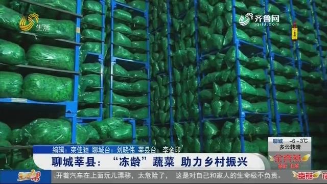 """聊城莘县:""""冻龄""""蔬菜 助力乡村振兴"""