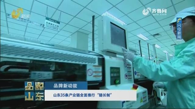 """【品牌新动能】山东35条产业链全面推行""""链长制"""""""
