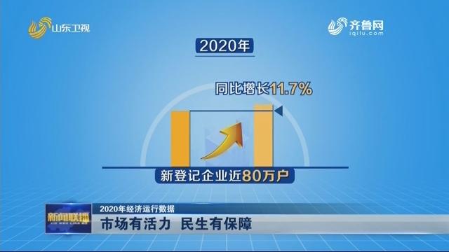 【2020年经济运行数据】市场有活力 民生有保障