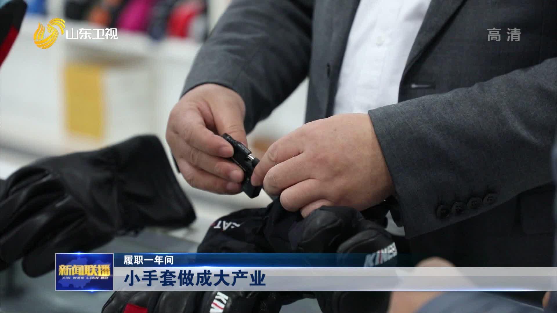 【履职一年间】小手套做成大产业