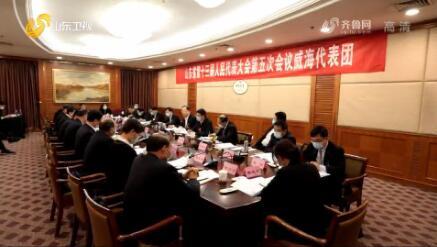 【直通两会】省委领导与代表审议政府工作报告