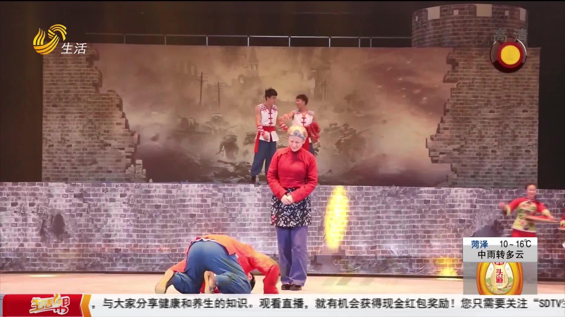 就地过年去哪玩?宁津德百杂技蟋蟀欢乐谷《大刀传奇》震撼首演