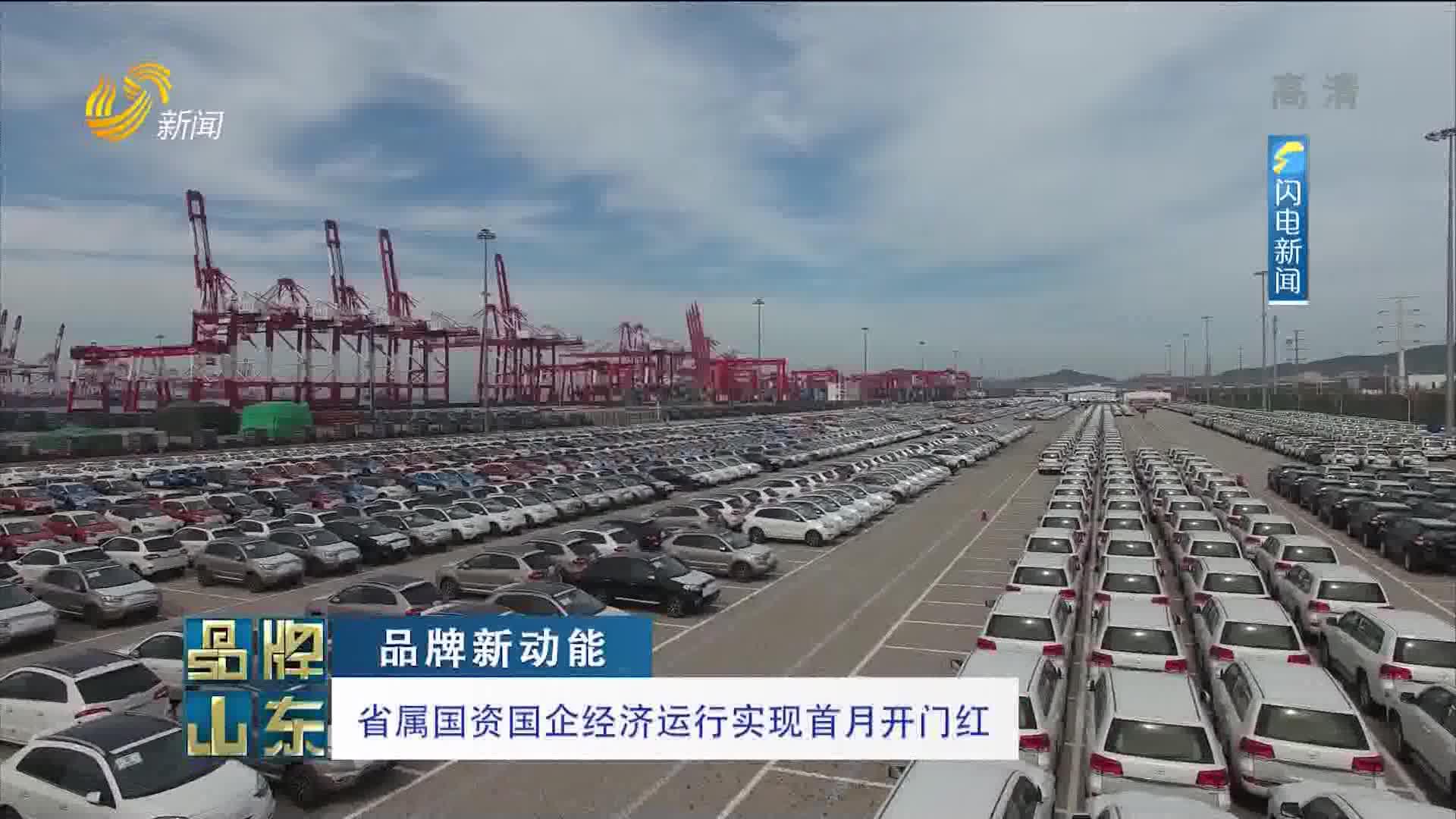 【品牌新动能】省属国资国企经济运行实现首月开门红