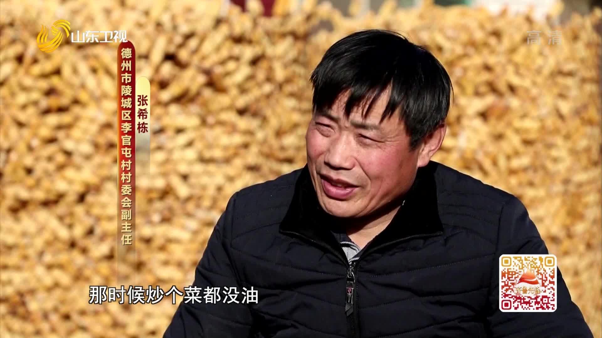20210224《齐鲁先锋》:张希栋——从贫困户到致富带头人