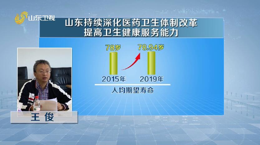 【专家学者看山东】王俊:山东医药卫生体制改革持续深化