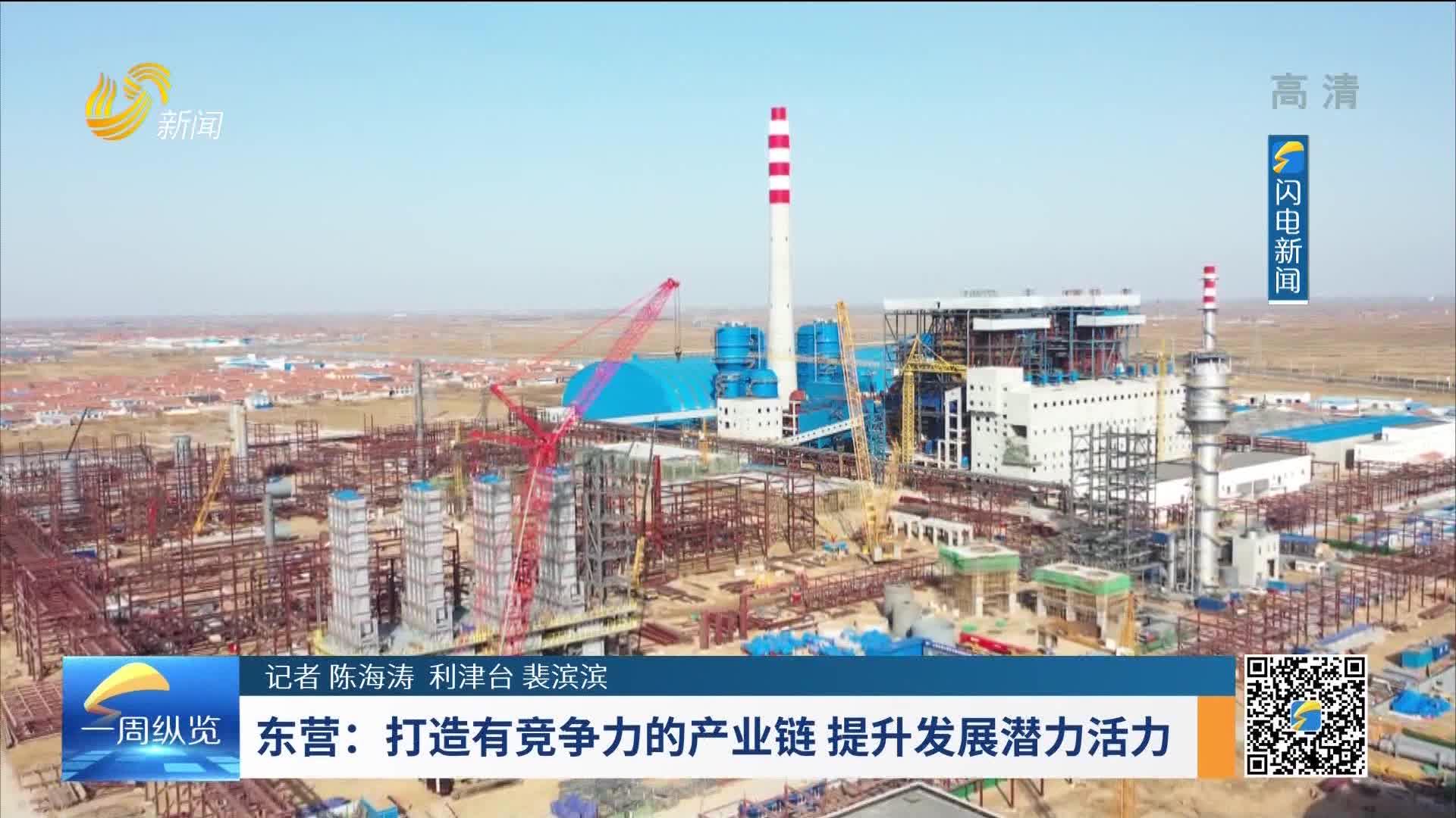 东营:打造有竞争力的产业链 提升发展潜力活力