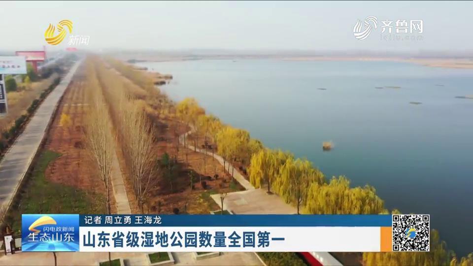 山东省级湿地公园数量全国第一