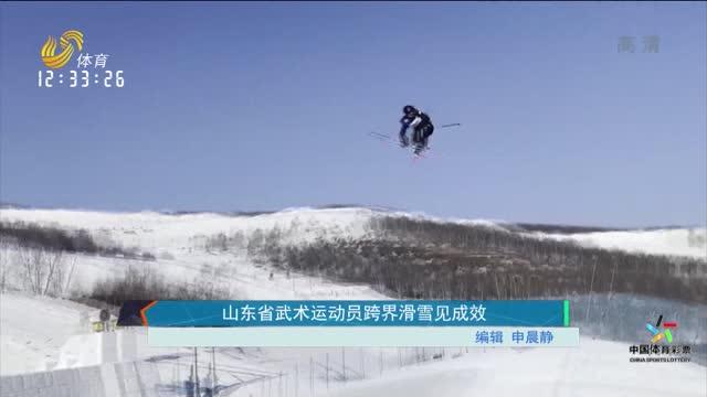 山东省武术运动员跨界滑雪见成效