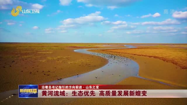 【沿着总书记指引的方向前进·山东之变】黄河流域:生态优先 高质量发展新嬗变