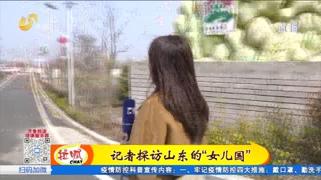 """三八节特别策划:探访即墨大沽河畔""""女儿村"""""""
