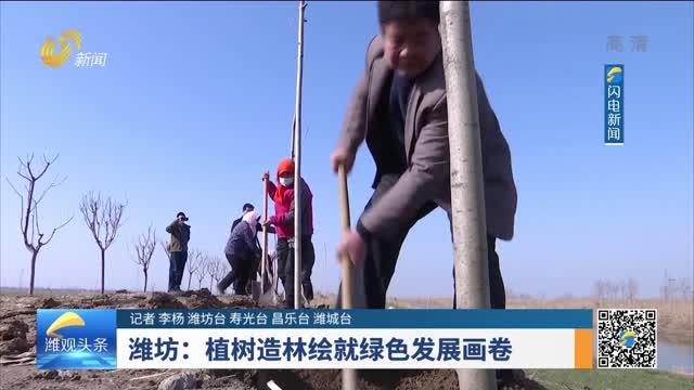 潍坊:植树造林绘就绿色发展画卷