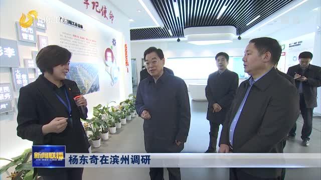 杨东奇在滨州调研