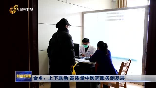 金乡:上下联动 高质量中医药服务到基层