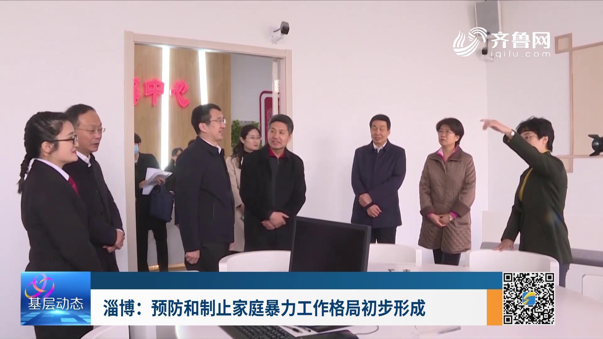 淄博:预防和制止家庭暴力工作格局初步形成