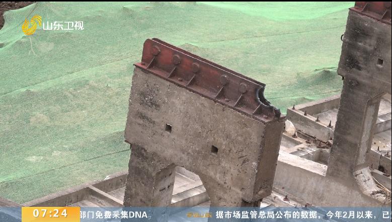 济宁市兖州区两座老旧水闸预计4月底拆除完毕