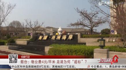"""【安家行动】烟台:物业费4元/平米 龙湖为何""""超标""""?"""