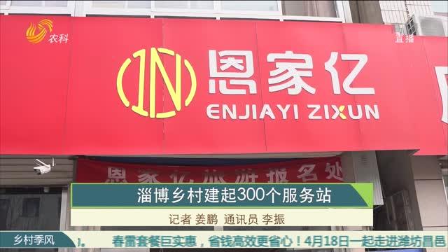 淄博乡村建起300个服务站
