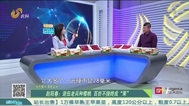 """20210425《总站长时间》:赵阳春——退伍老兵种樱桃 百折不挠终成""""果"""""""