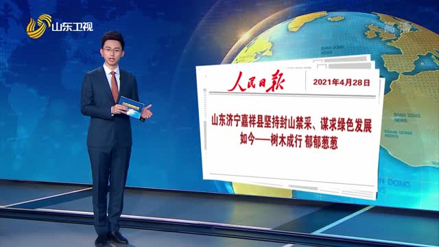 人民日报刊发报道 点赞嘉祥县坚持封山禁采、谋求绿色发展