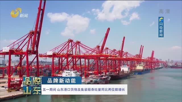 【品牌新动能】五一期间 山东港口货物及集装箱吞吐量同比两位数增长