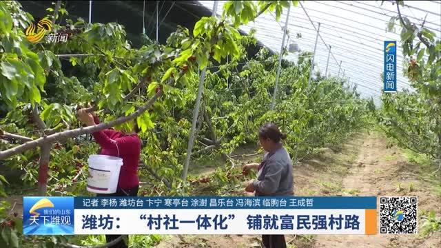 """潍坊:""""村社一体化""""铺就富民强村路"""