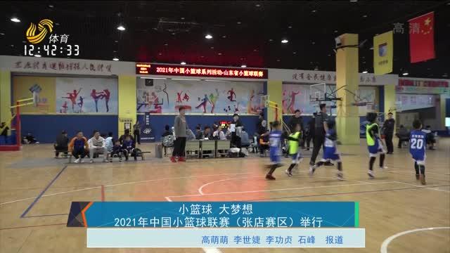 小篮球 大梦想 2021年中国小篮球联赛(张店赛区)举行