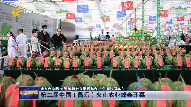第二届中国(昌乐)火山农业峰会开幕