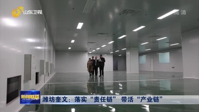 """潍坊奎文:落实""""责任链"""" 带活""""产业链"""""""