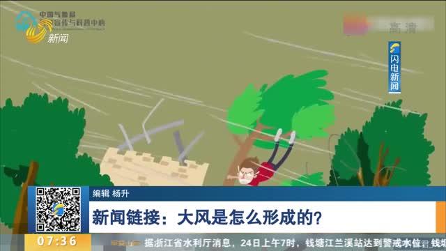 新闻链接:大风是怎么形成的?