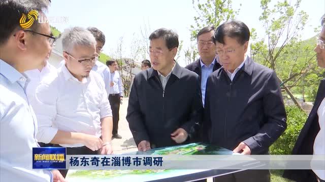 杨东奇在淄博市调研