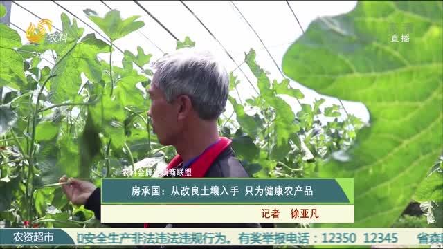 【农科金牌经销商联盟】房承国:从改良土壤入手 只为健康农产品