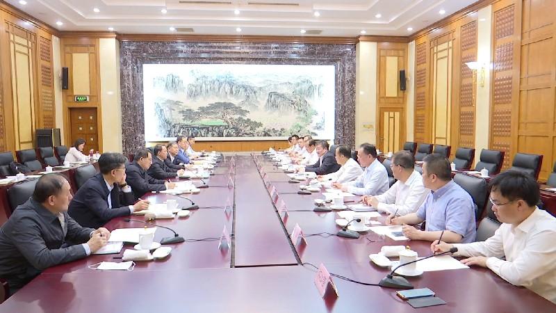 山東青海對口支援座談會在濟南召開