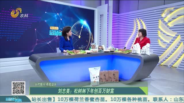 【乡村振兴 有我站长】刘志美:松树林下年创百万财富