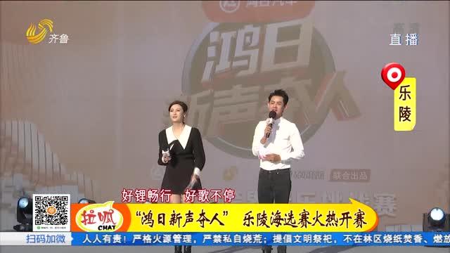 """高手云集 """"新声夺人""""跨界音乐挑战赛走进乐陵"""