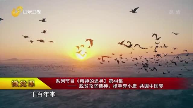 【微黨課】系列節目《精神的追尋》第44集——脫貧攻堅精神:攜手奔小康 共圓中國夢