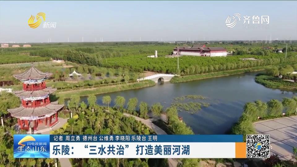 """樂陵:""""三水共治"""" 打造美麗河湖"""