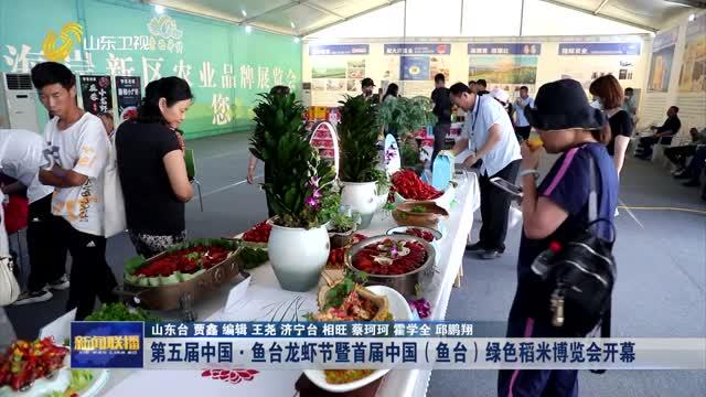 第五届中国·鱼台龙虾节暨首届中国(鱼台)绿色稻米博览会开幕