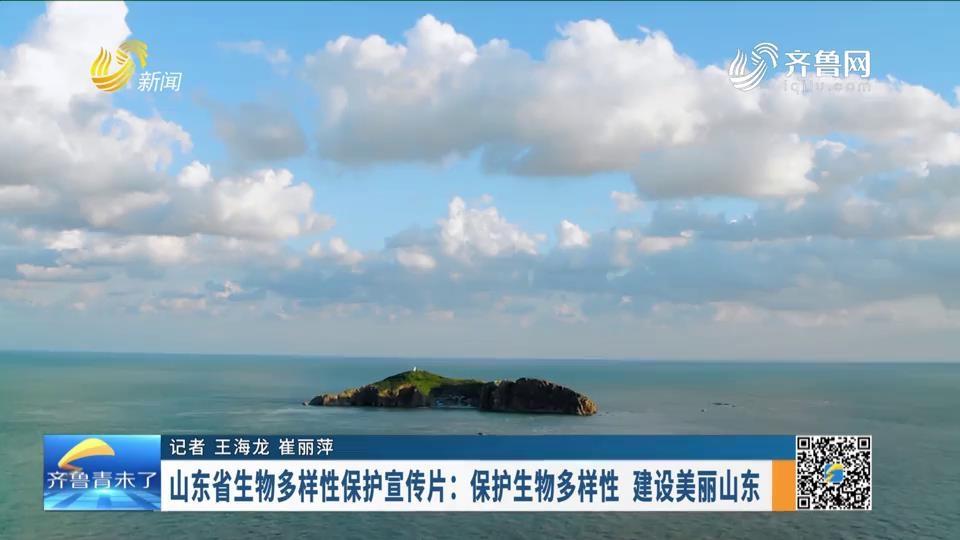 山東省生物多樣性保護宣傳片:保護生物多樣性 建設美麗山東