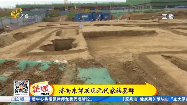 济南发现元代墓葬 墓主人身份不一般