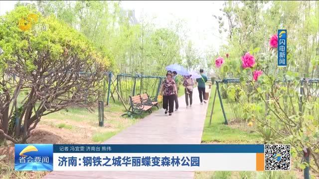 濟南:鋼鐵之城華麗蝶變森林公園