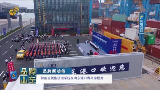 【品牌新動能】智能空軌集疏運系統在山東港口青島港投用