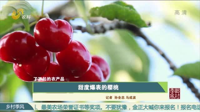 【農大腐植酸 了不起的農產品(十二)】甜度爆表的櫻桃