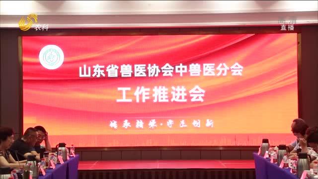 【齊魯畜牧】山東省獸醫協會中獸醫分會工作推進會在濟南舉行