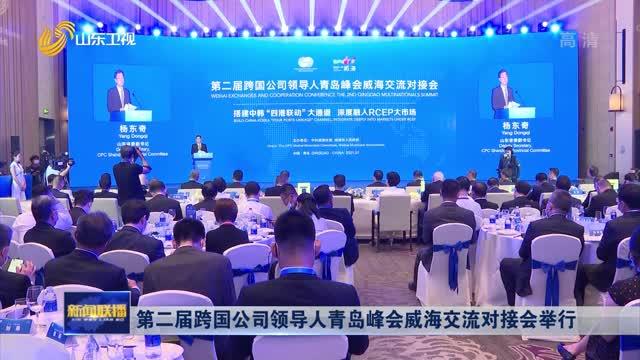 第二届跨国公司领导人青岛峰会威海交流对接会举行