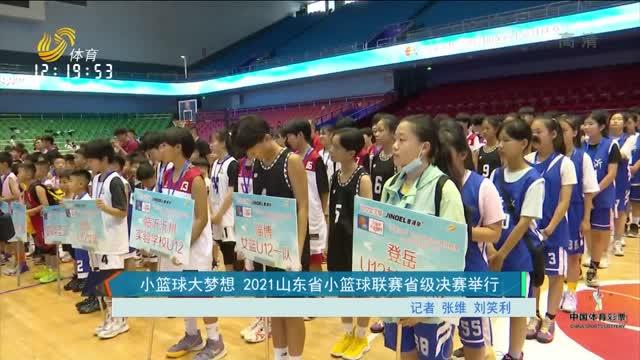 小籃球大夢想 2021山東省小籃球聯賽省級決賽舉行