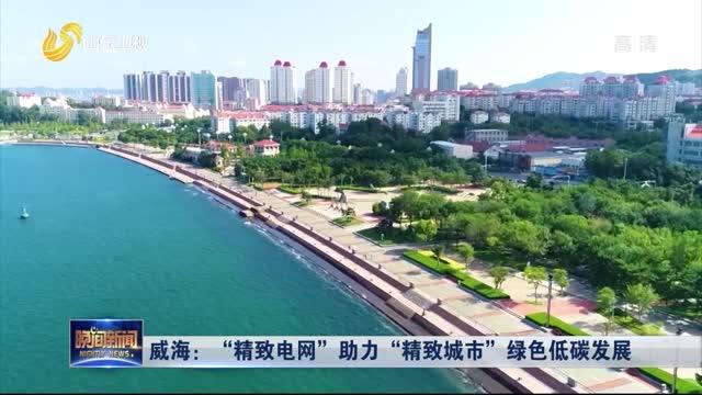 """威海:""""精致電網""""助力""""精致城市""""綠色低碳發展"""