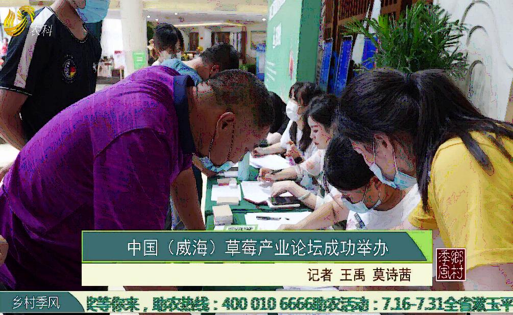 中國(威海)草莓產業論壇成功舉辦