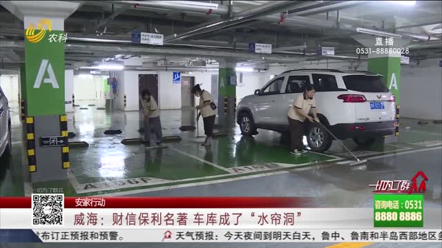 """【安家行動】威海:財信保利名著 車庫成了""""水簾洞"""""""