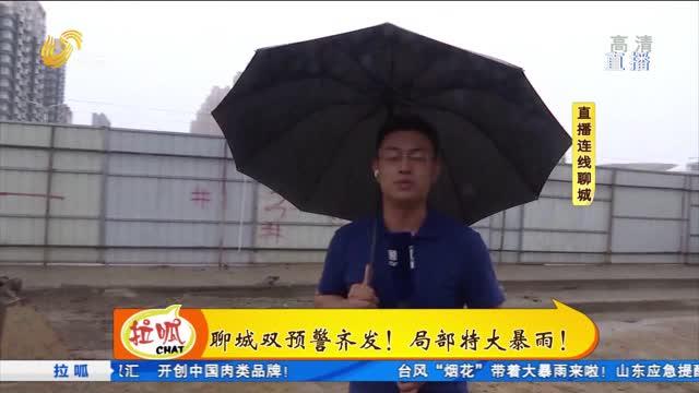 直播连线:聊城台风降雨情况和防汛措施