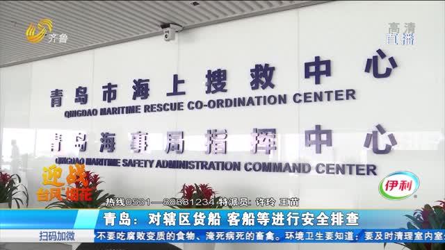 青岛:对辖区货船 客船等进行安全排查